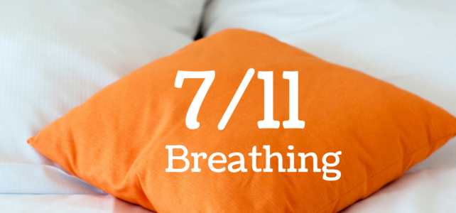 Use Your Breath – 7/11 Breathing